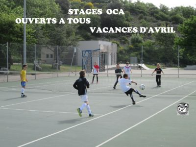Inscriptions stages vacances de printemps